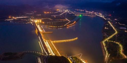 湖北宜昌:长江三峡水电