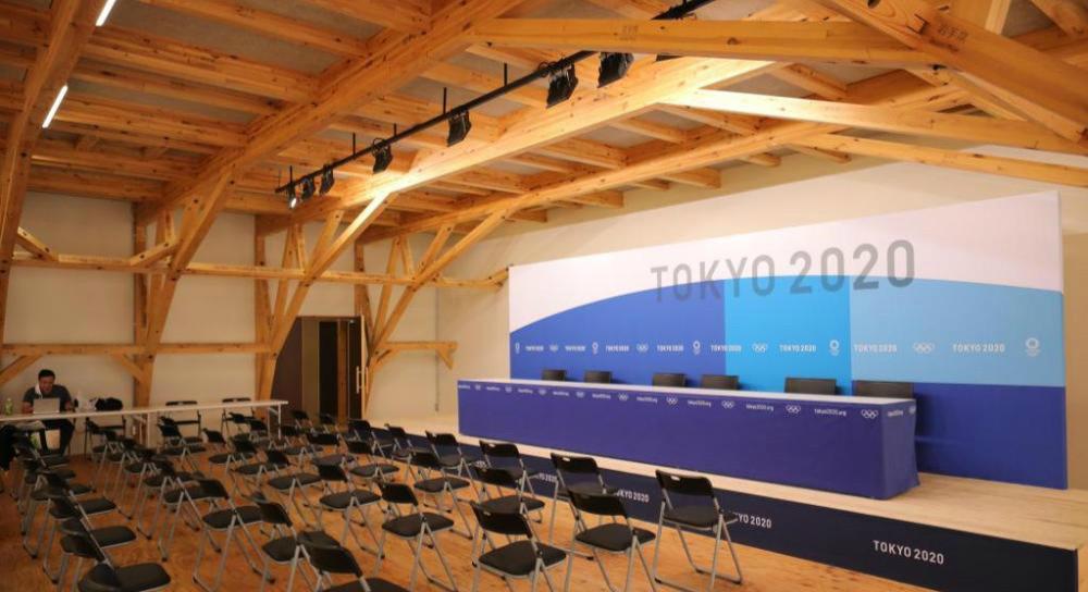 东京奥运会奥运村对媒体开放